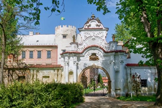 zámek Líškov