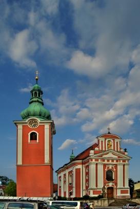 Červený Kostelec kostel sv. Jakuba Většího