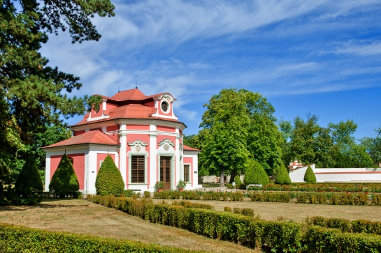 Sala Terrena v zámeckém parku - Mnichovo Hradiště
