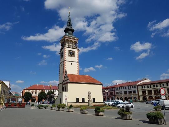 Dobruška náměstí