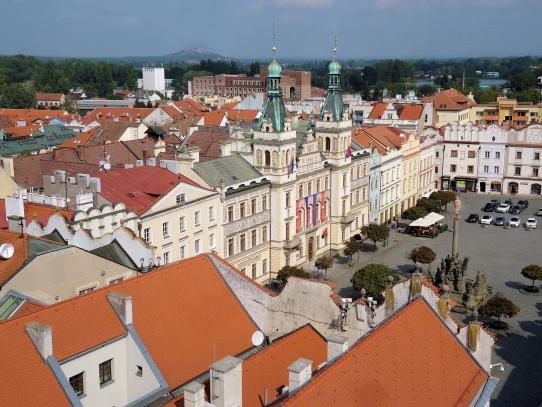 Pardubice náměstí