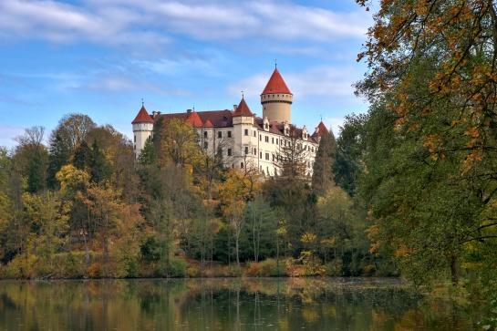 zámek Konopiště