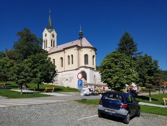 Mníšek pod Brdy náměstí