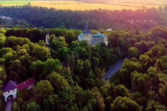 zámek Stránov