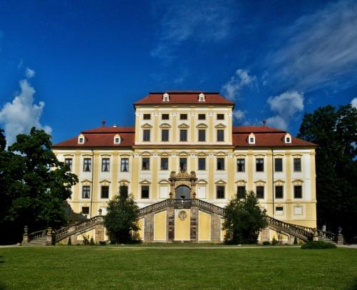 zámek Červený Hrádek u Jirkova
