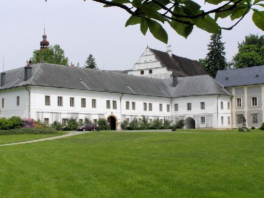 Velké Losiny zámek