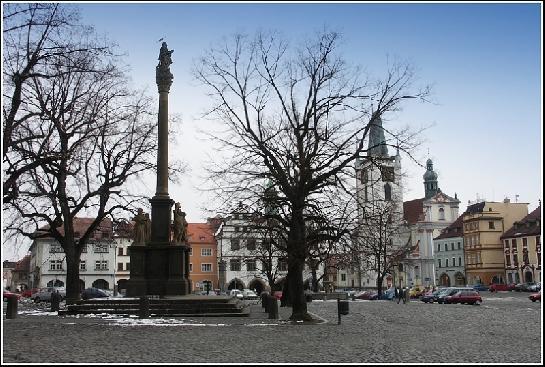 Litoměřické náměstí.