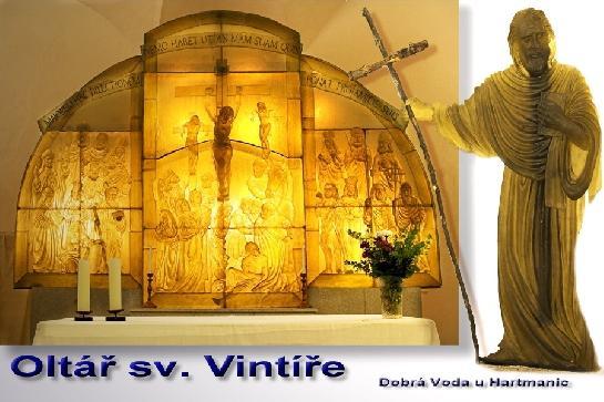 Oltář sv. Vintíře