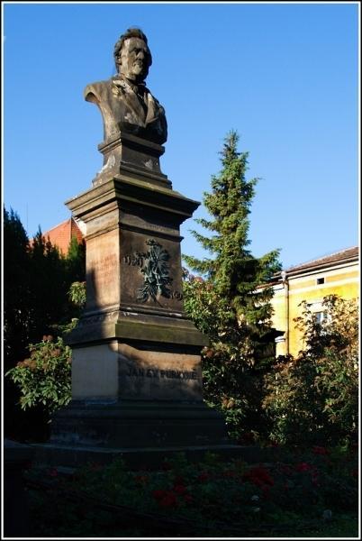 Pomník J. E. Purkyně