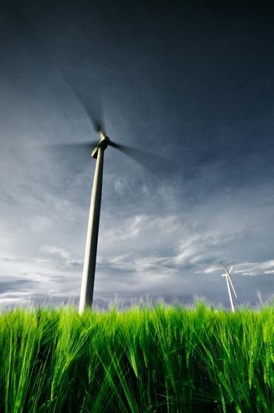 Větrná elektrárna II. Pchery - Kladno